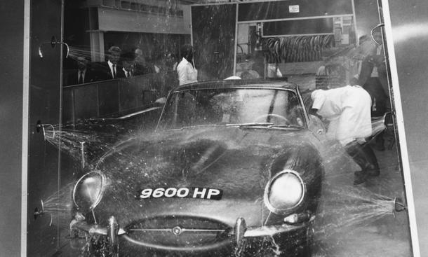 Autowaschanlage Jubiläum Geburtsjahr 1962 in Augsburg