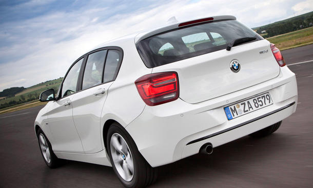 BMW 116d EfficientDynamics Edition - Testverbrauch