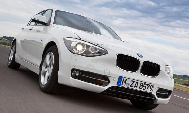 BMW 116d EfficientDynamics Edition - Beschleunigung