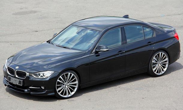 BMW 3er 2012 Tuning Kelleners Sport Aerodynamik Felgen Fahrwerke Leistungssteigerung