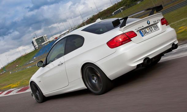 BMW Alpina B3 GT3 - Aerodynamik-Paket