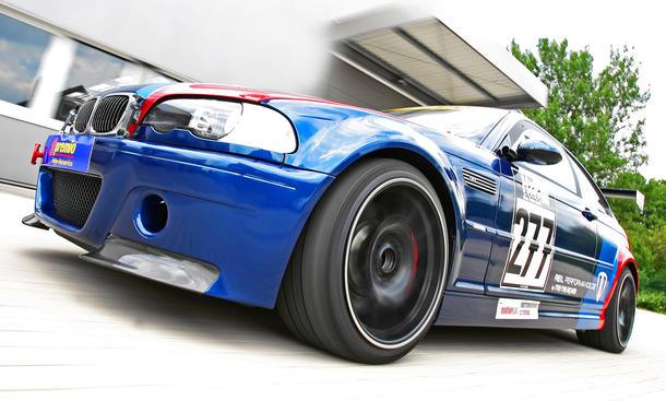 BMW M3 CSL Tuning-Programm MR Car Design Reil Performance