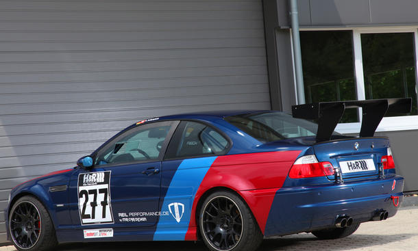 BMW M3 CSL Tuning-Programm MR Car Design Reil Performance