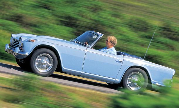Bilder Autogeschichte Triumph TR4 1961 (ali)