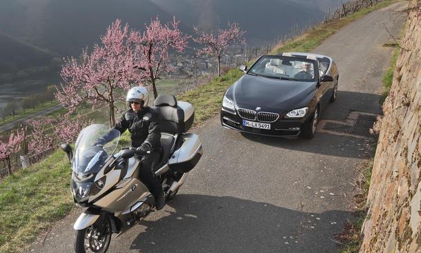 Bilder BMW 640i Cabriolet BMW K 1600 GTL 2012 Faszination