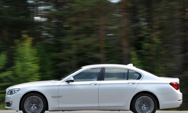 Bilder BMW 750i 2012 Fahrbericht