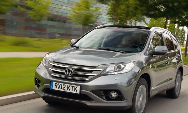 Bilder Honda CR-V 2.2 i-DTEC 4WD 2012 Fahrbericht