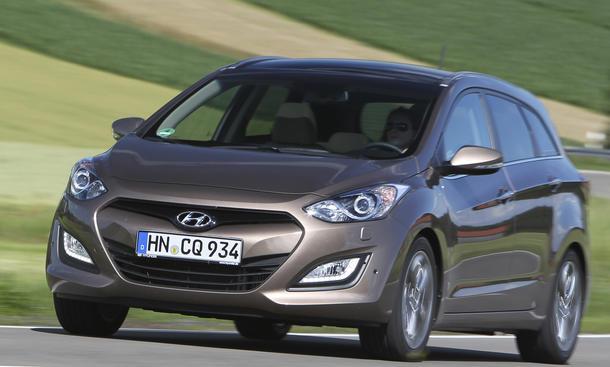 Bilder Hyundai i30cw Fahrbericht Verkaufsstart