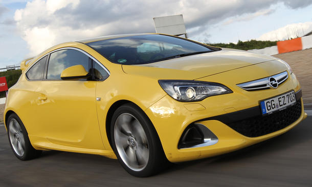 Bilder Opel Astra OPC 2012