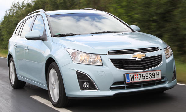 Chevrolet Cruze Station Wagon 1.7 D im Test