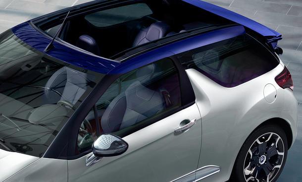 citro n ds3 cabrio 2013 kleinwagen mit faltdach auf dem pariser salon bild 5. Black Bedroom Furniture Sets. Home Design Ideas