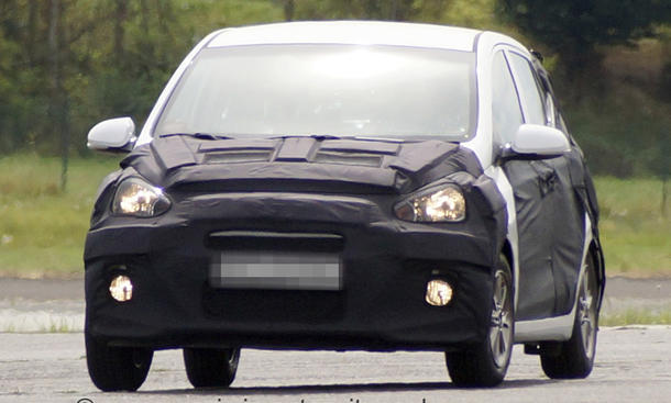 Erlkönig Hyundai i10 Generation zwei 2014