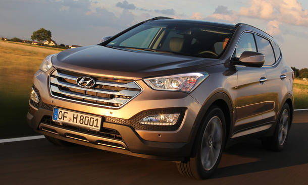 Hyundai Santa Fe 2.2 CRDi 4WD - Verkaufsstart
