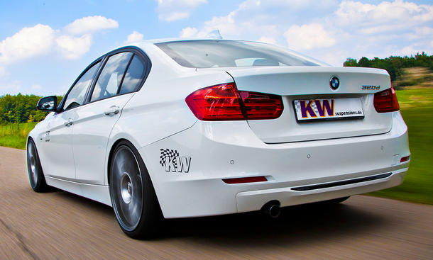 KW BMW 3er 2012 iSuspension Gewindefahrwerk DDC ECU plug&play iPhone iPad iPod
