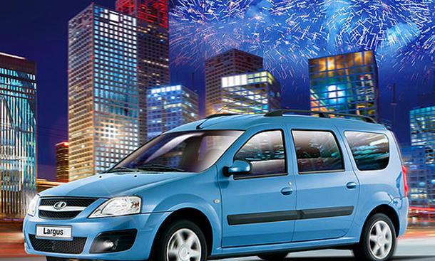 Lada Largus 2013 Dacia Logan MCV Lizenz-Nachbau Kompakt-Van