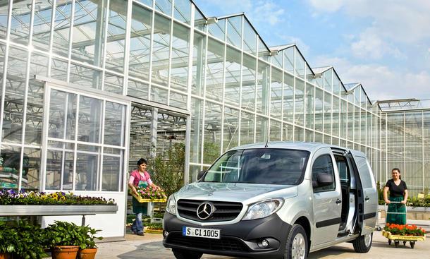 Mercedes Citan: Preis für City-Lieferwagen ab 14.660 Euro