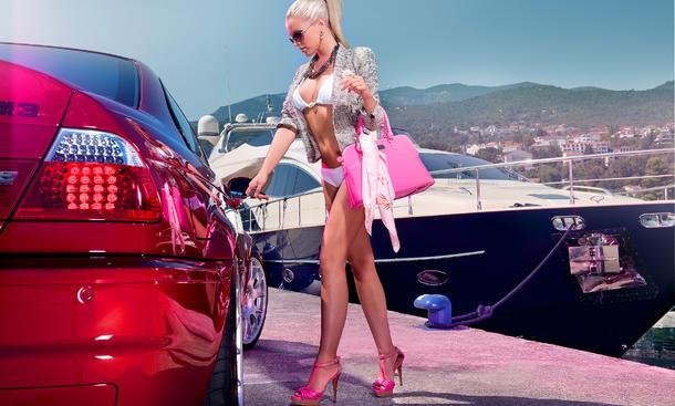 Girls Kalender 2012 August Highlights