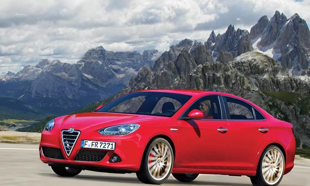 Neuheiten 2012 Alfa Romeo Giulia 2014