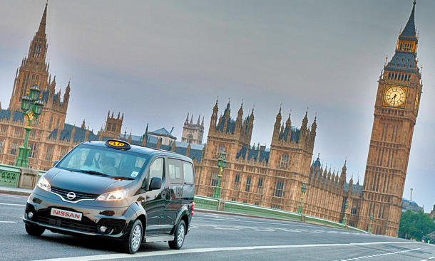 Nissan NV 200 London Taxi 2012 Black Cabs