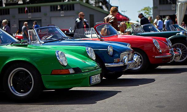 Oldtimer Grand Prix 2012 Oldtimer Youngtimer Auto-Klassiker Nürburgring Classic Cars