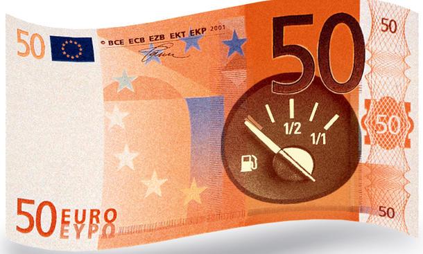 Ratgeber Verbrauchsvergleich Testverbrauch Reichweite 50 Euro 2012