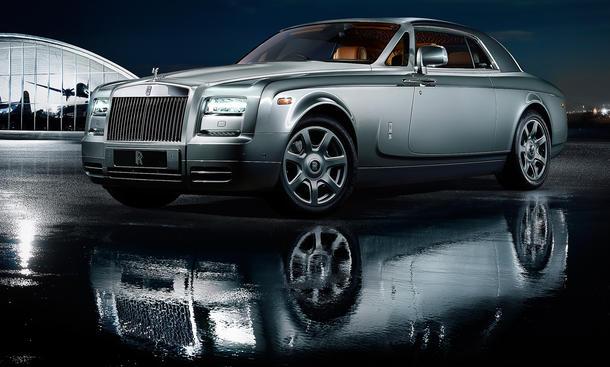 Rolls Royce Phantom Coupé Aviator Collection 2012 Sondermodell
