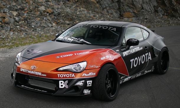 Drift-Ungetüm: Der auf dem Toyota GT86 basierende Speedhunters 86X