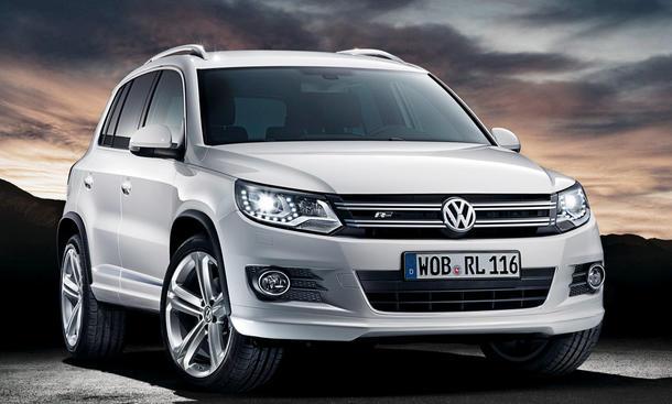 VW Tiguan beliebtestes SUV im ersten Halbjahr 2012 Front