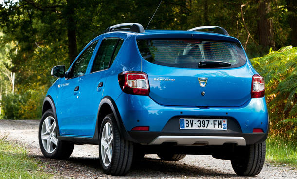 Dacia Sandero 2013 on Direktlink Bildergalerie Starten Dacia Sandero Stepway 2013 Frische