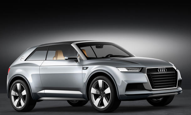 Audi Crosslane Coupé Auto Salon Paris 2012 Q2 2014 SUV Hybrid
