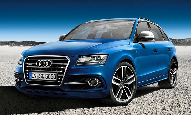Audi SQ5 TDI exclusive Concept Auto Salon Paris 2012 SUV Studie
