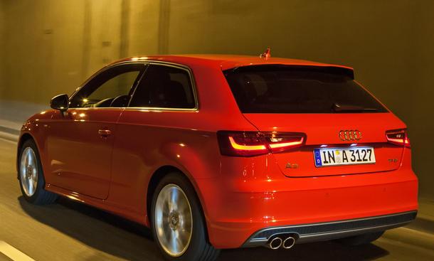 Bilder Audi A3 1.8 TFSI Vergleichstest 2012 S-line Exterieur-Paket