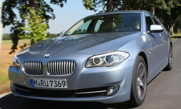 Bilder BMW ActiveHybrid 5 2012