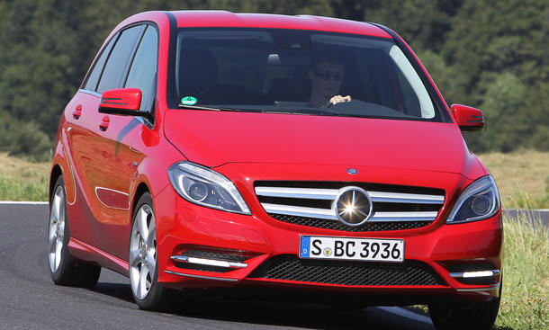 Bilder Mercedes B 200 BlueEFFICIENCY 2012