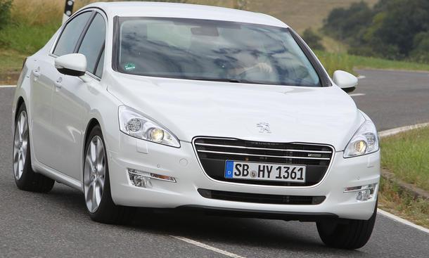 Bilder Peugeot 508 HYbrid4 2012