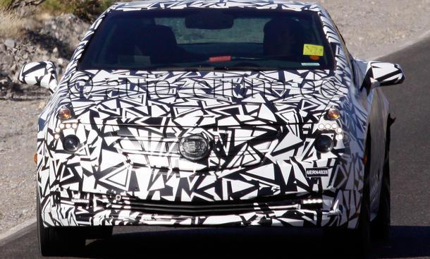 Cadillac ELR 2013 Elektroauto Erlkönig Technik Chevrolet Volt Opel Ampera
