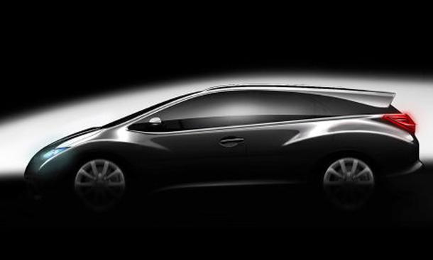Honda Civic Wagon Kombi Studie Europa