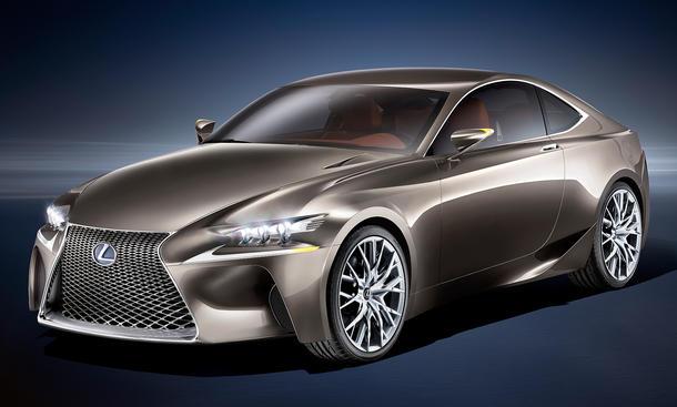 Lexus LF-CC: Hybrid-Concept auf dem Auto Salon Paris 2012