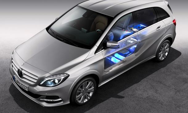 mercedes b 200 natural gas drive neue b klasse mit erdgasantrieb bild 9. Black Bedroom Furniture Sets. Home Design Ideas
