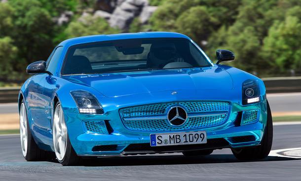 Mercedes SLS AMG Electric Drive 2013 Elektro-Supersportler Auto Salon Paris 2012