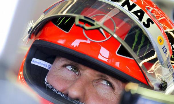 Michael Schumacher Italien-GP 2012 Monza Ferrari