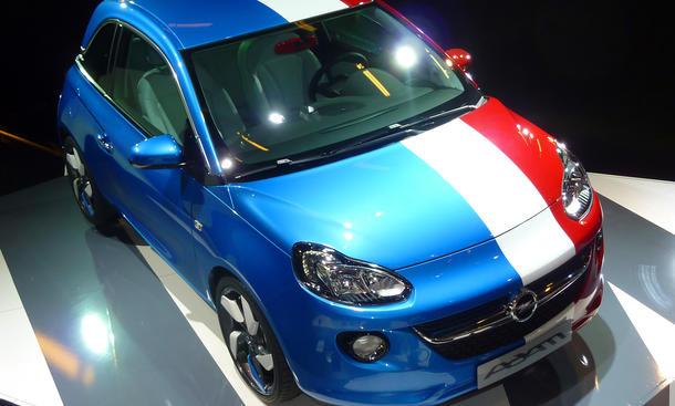 Opel Adam 2013: Bunte Vielfalt auf dem Auto Salon Paris 2012