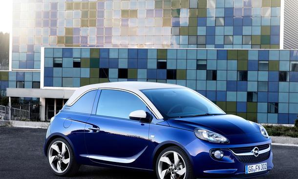 Opel Adam 2013 Preis Auto Salon Paris 2012