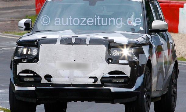 Range Rover 2013 Langversion LWB Erlkönig Nürburgring Luxus-SUV