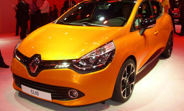 Renault Clio IV Kombi Grandtour RS 2013 Auto Salon Paris 2012