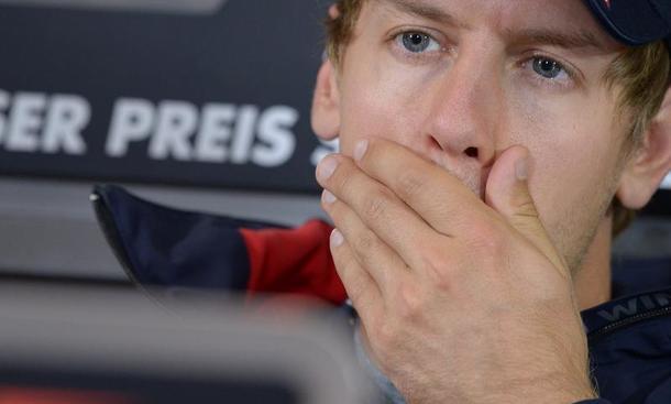 Formel 1 Sebastian Vettel Italien GP 2012 Monza Rechenspiele