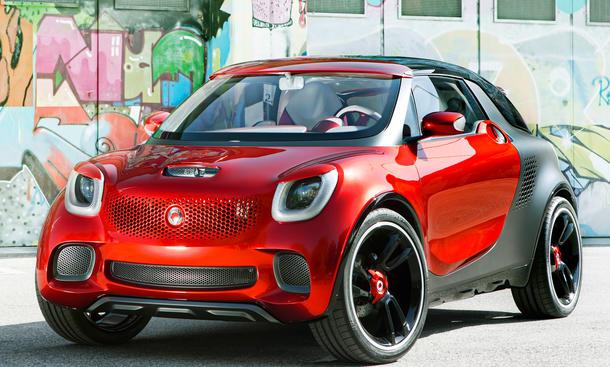Smart forstars 2012 Design-Studie Beamer Auto Salon Paris 2012 Concept Car