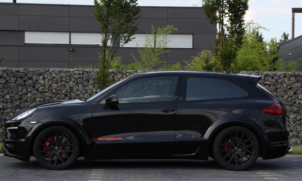 Porsche Cayenne Turbo als Coupé von Merdad Collection