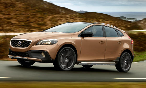 Volvo V40 CC 2013: Cross Country feiert Premiere auf Pariser Salon 2012