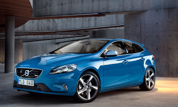 Volvo präsentiert in Paris die R-Design-Version des V40